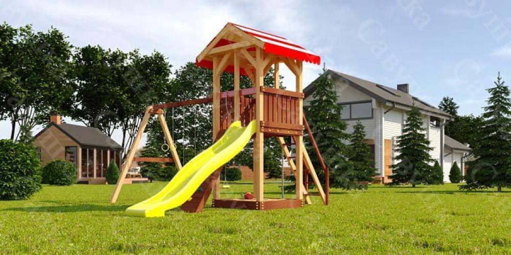 Как выбрать уличный игровой городок для детей