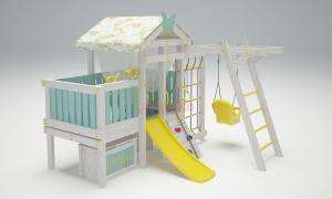 Игровой комплекс Савушка Baby 2 голубой