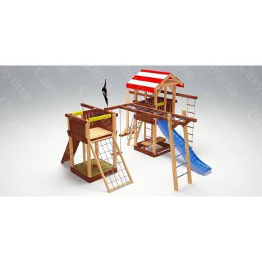 Детский игровой комплекс Савушка - 17