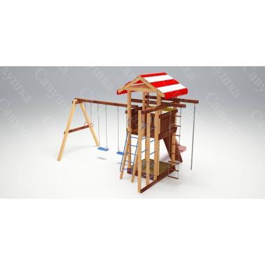 Детская игровая площадка из дерева Савушка - 8